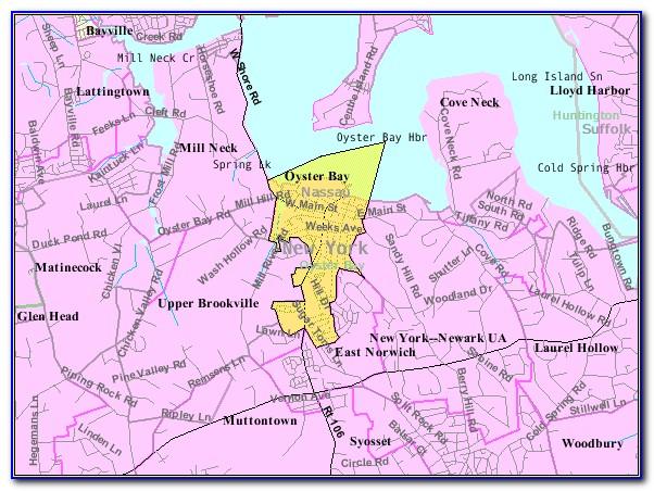 Oyster Bay Cove Ny Map