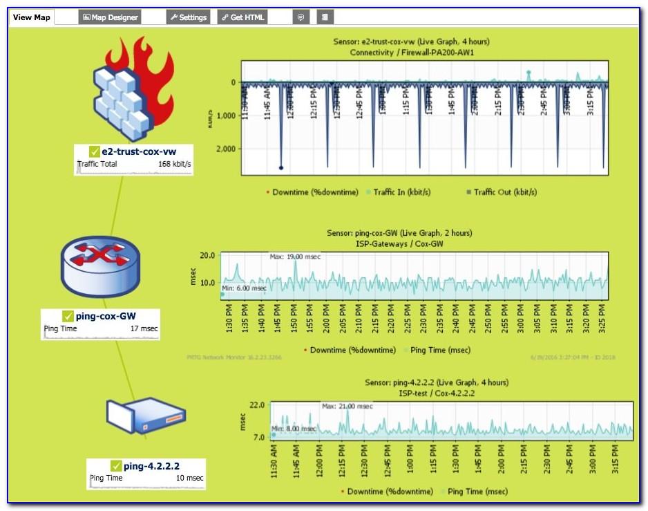 Paessler Prtg Network Mapping Tools