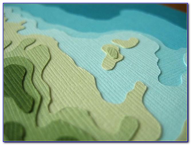 Paper Topo Maps