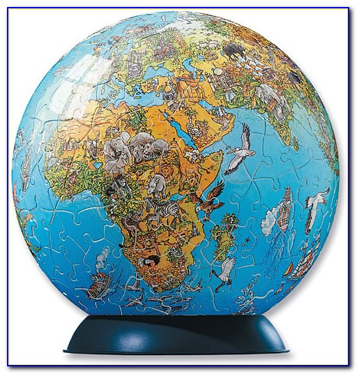 Personalized Map Puzzles Canada