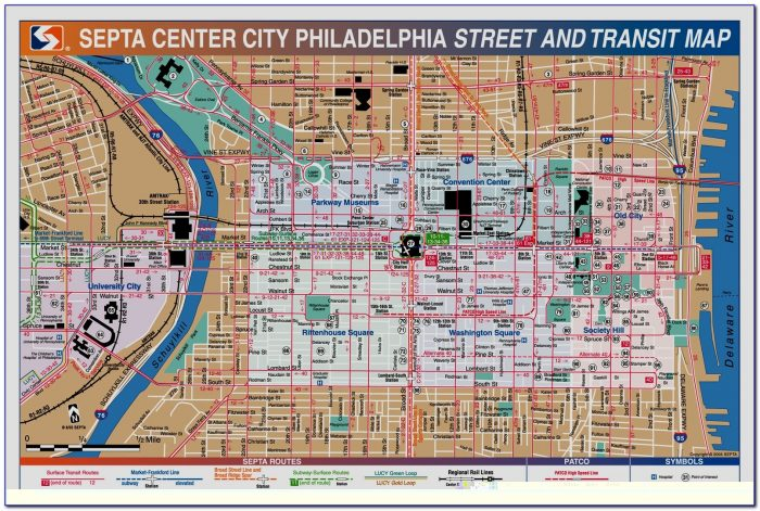 Philadelphia Tourist Map Pdf