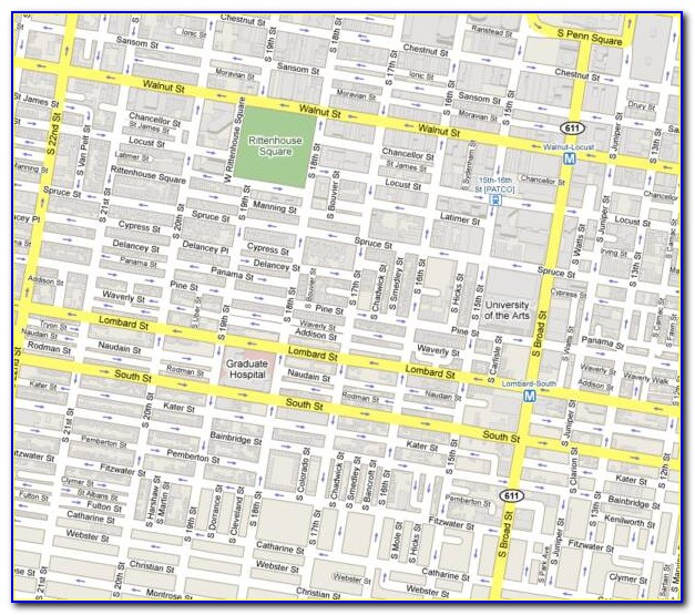Philly Street Map