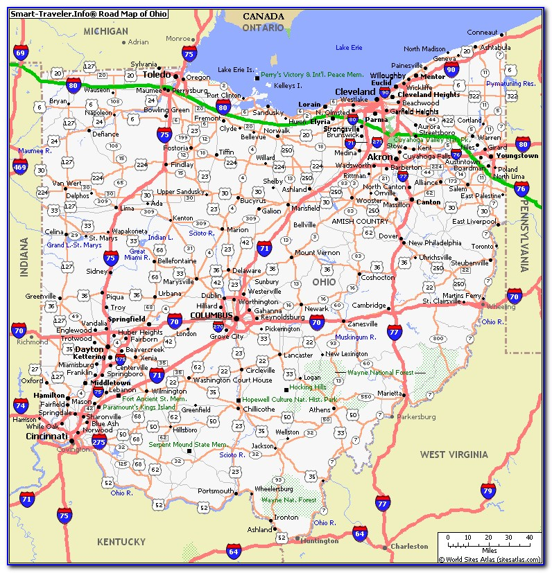 Picture Ohio Map