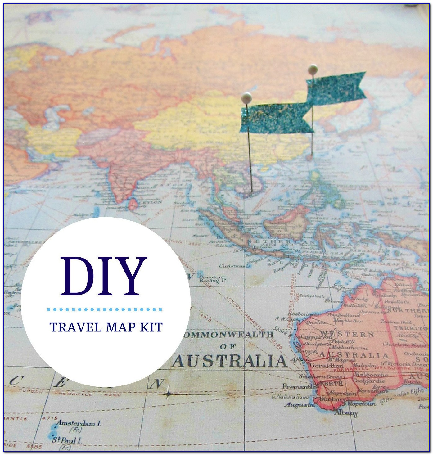 Pin Your Travel Map Online