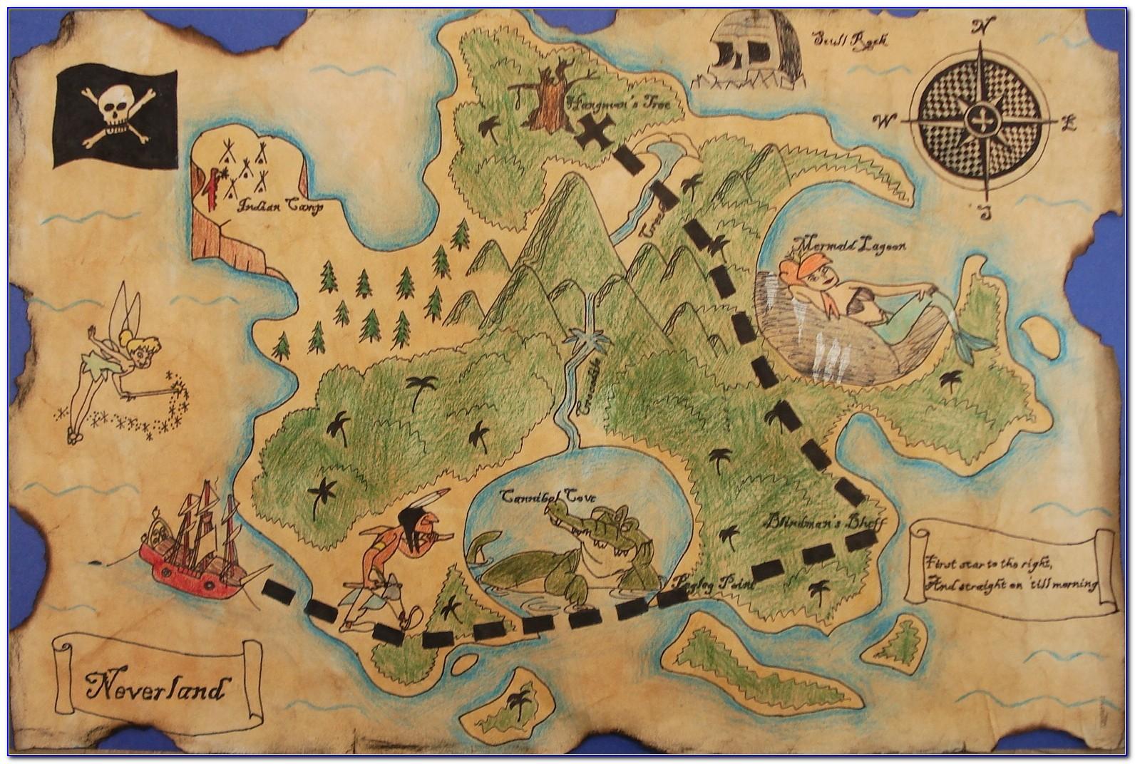 Pirate Treasure Maps To Print