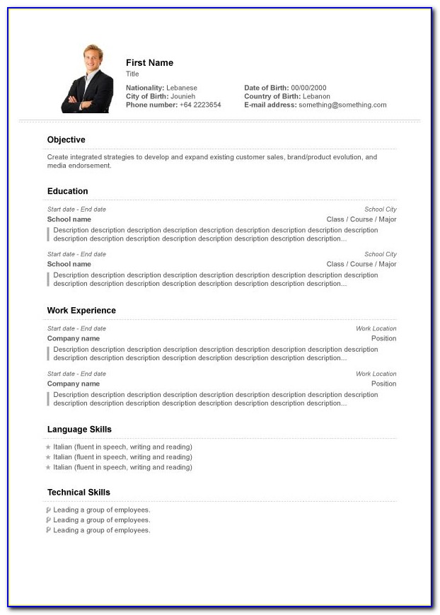 Professional Resume Maker Online