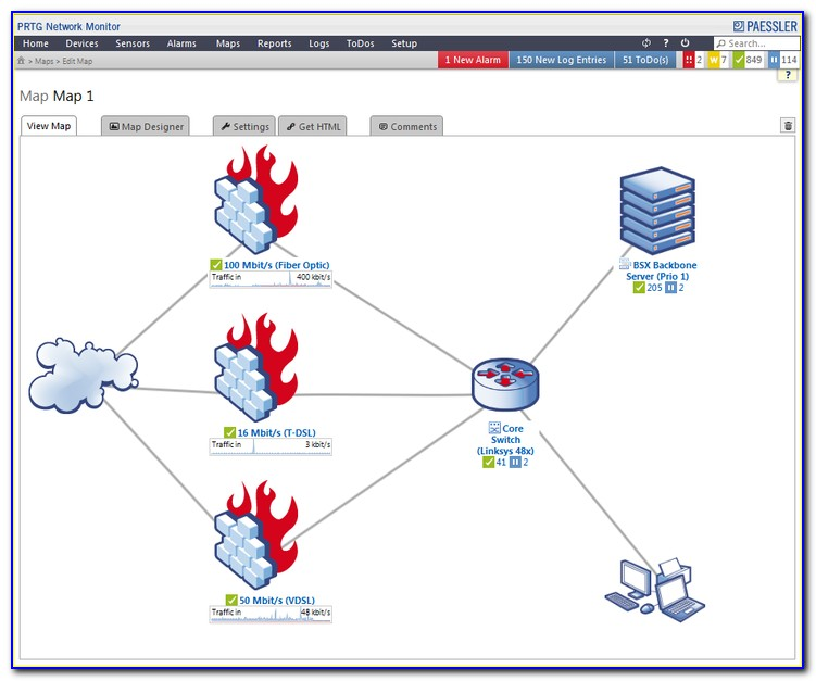 Prtg Generate Network Map