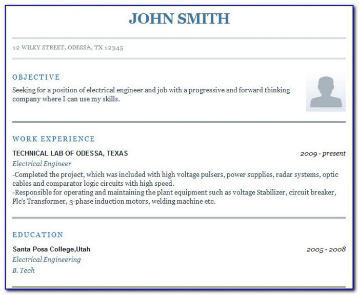 Quick Resume Builder