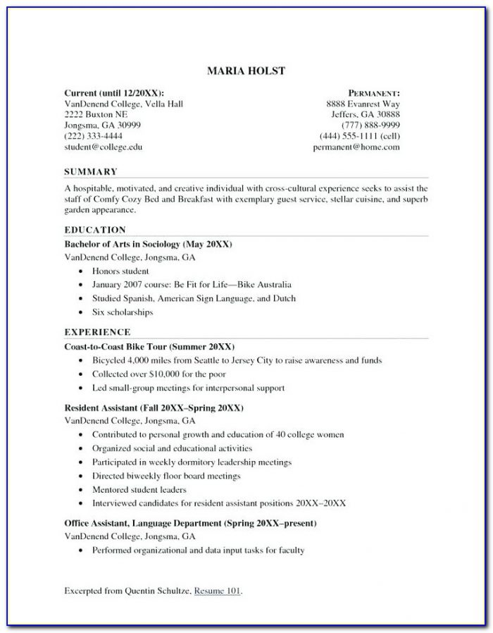 Quick Resume Builder Free