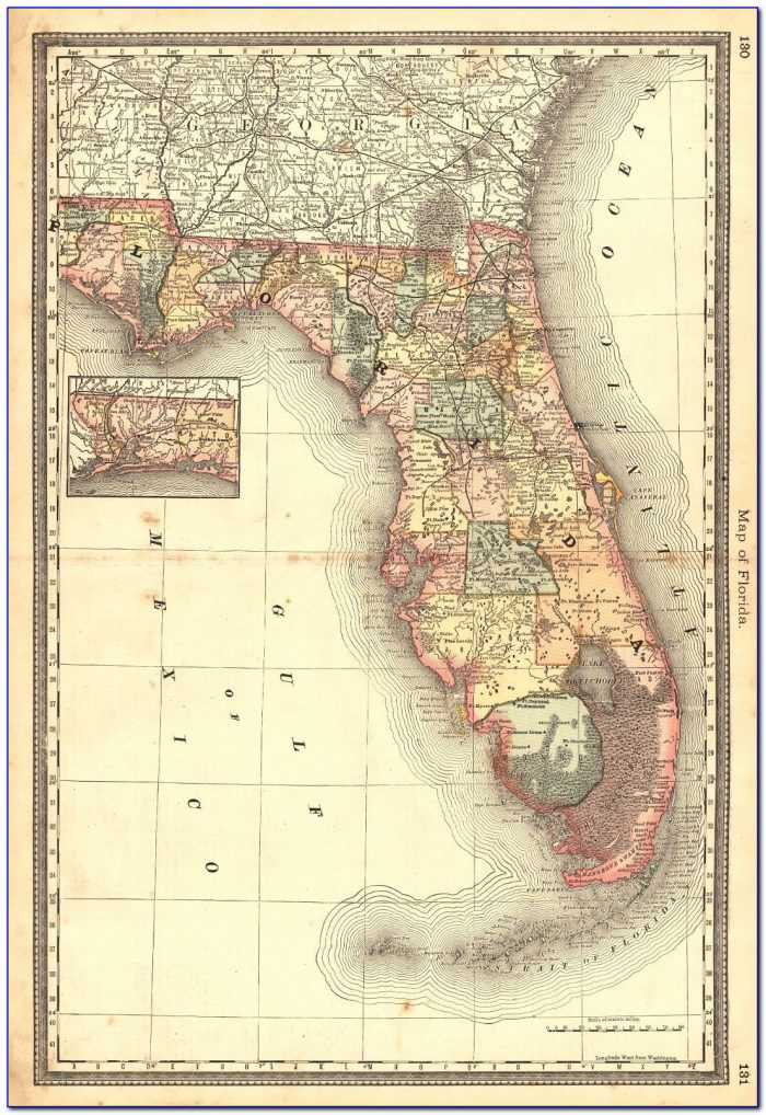 Rand Mcnally Florida Map