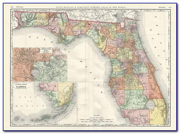 Rand Mcnally Florida Road Map