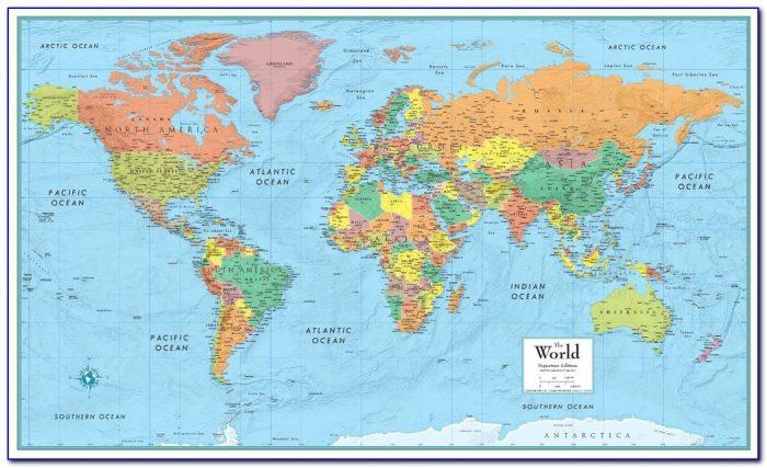 Rand Mcnally Laminated Maps