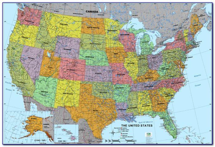 Rand Mcnally Map Of Usa