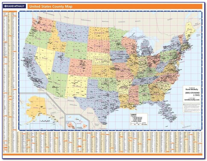 Rand Mcnally State Road Maps