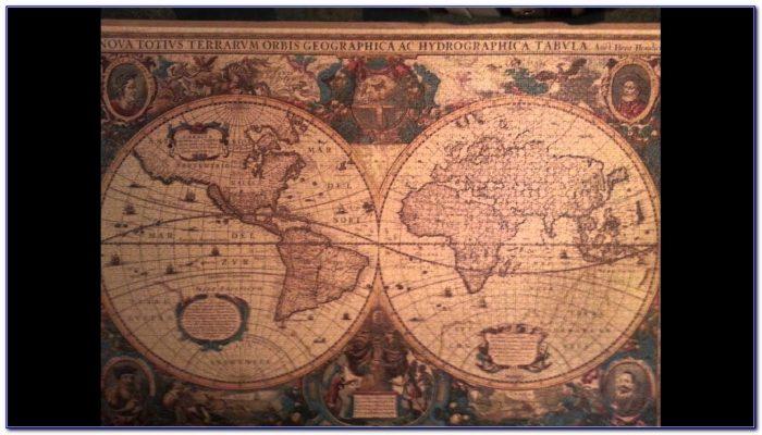 Ravensburger Antique World Map Puzzle (5000 Pieces)
