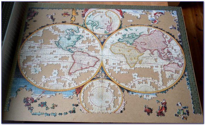 Ravensburger World Map Jigsaw Puzzle