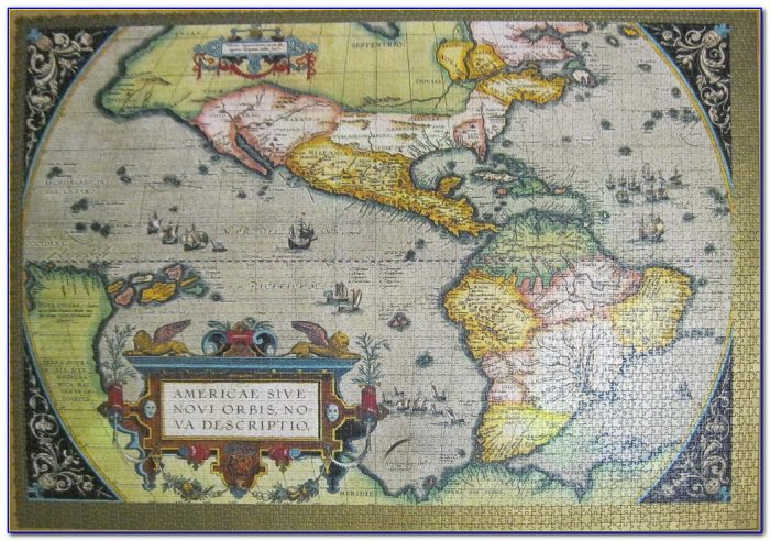 Ravensburger World Map Puzzle 18000