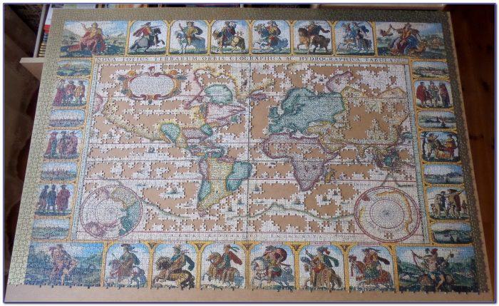 Ravensburger World Map Puzzle 200
