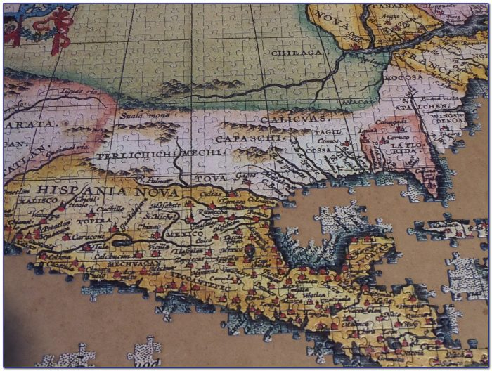 Ravensburger World Map Puzzle 2000 Pieces