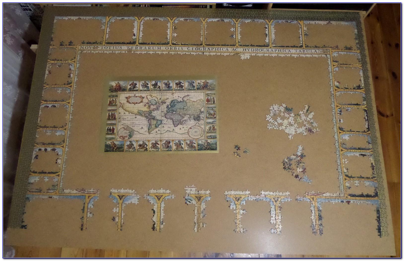 Ravensburger World Map Puzzle 500