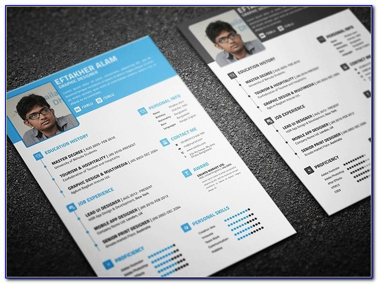 Resume Business Card Examples