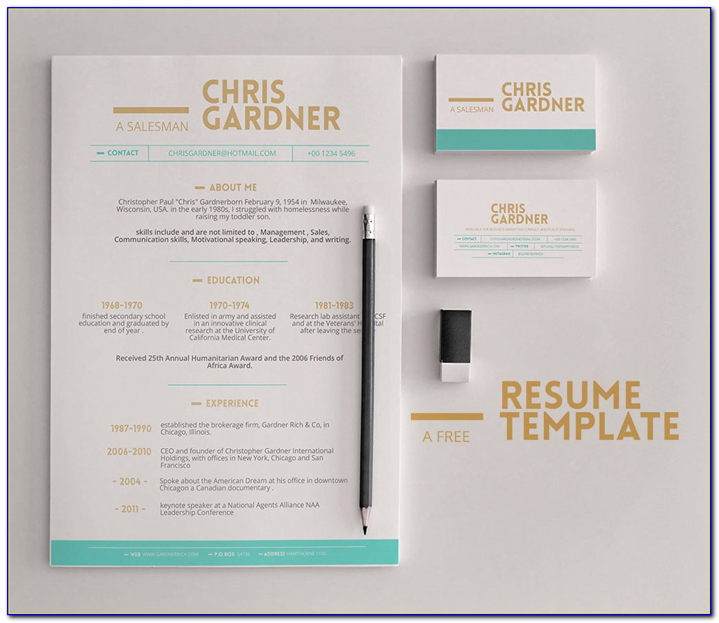 Resume Business Card Ideas