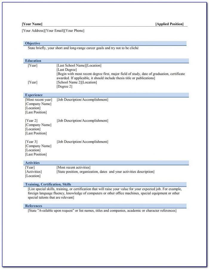 Resume Creator Pro Free Download