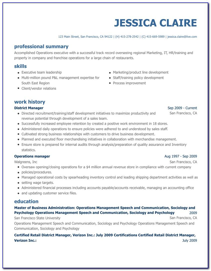 Resume Maker Professional Software Free Download