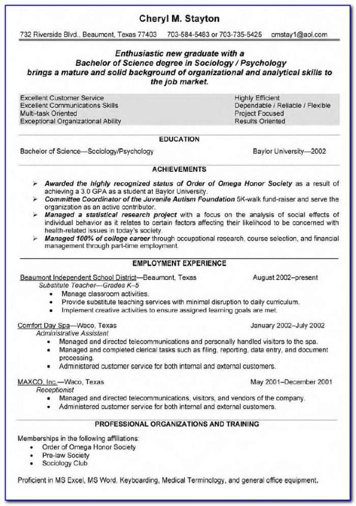 Writing A Teaching Resume Teacher Resume Template 2016