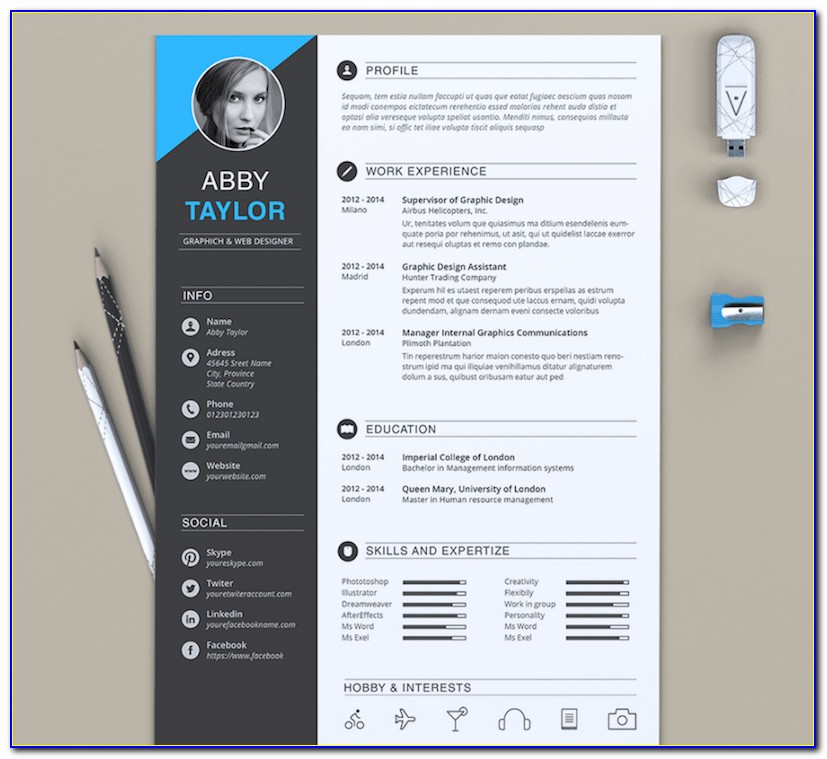 Resume Templates For Word 2013