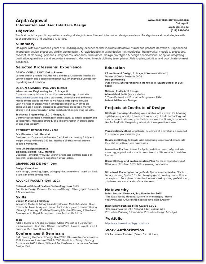 Resume Writing Services Chicago Illinois
