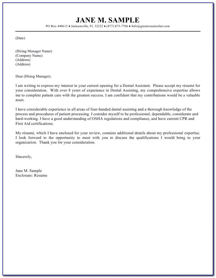 Resumes And Cover Letters Harvard