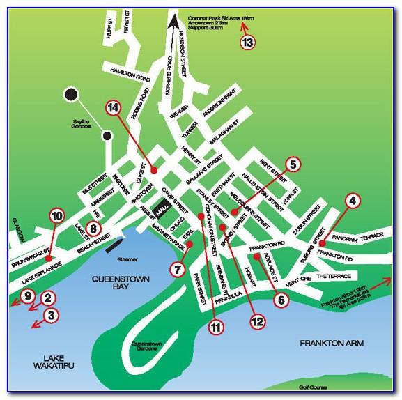 Richmond Va Downtown Map