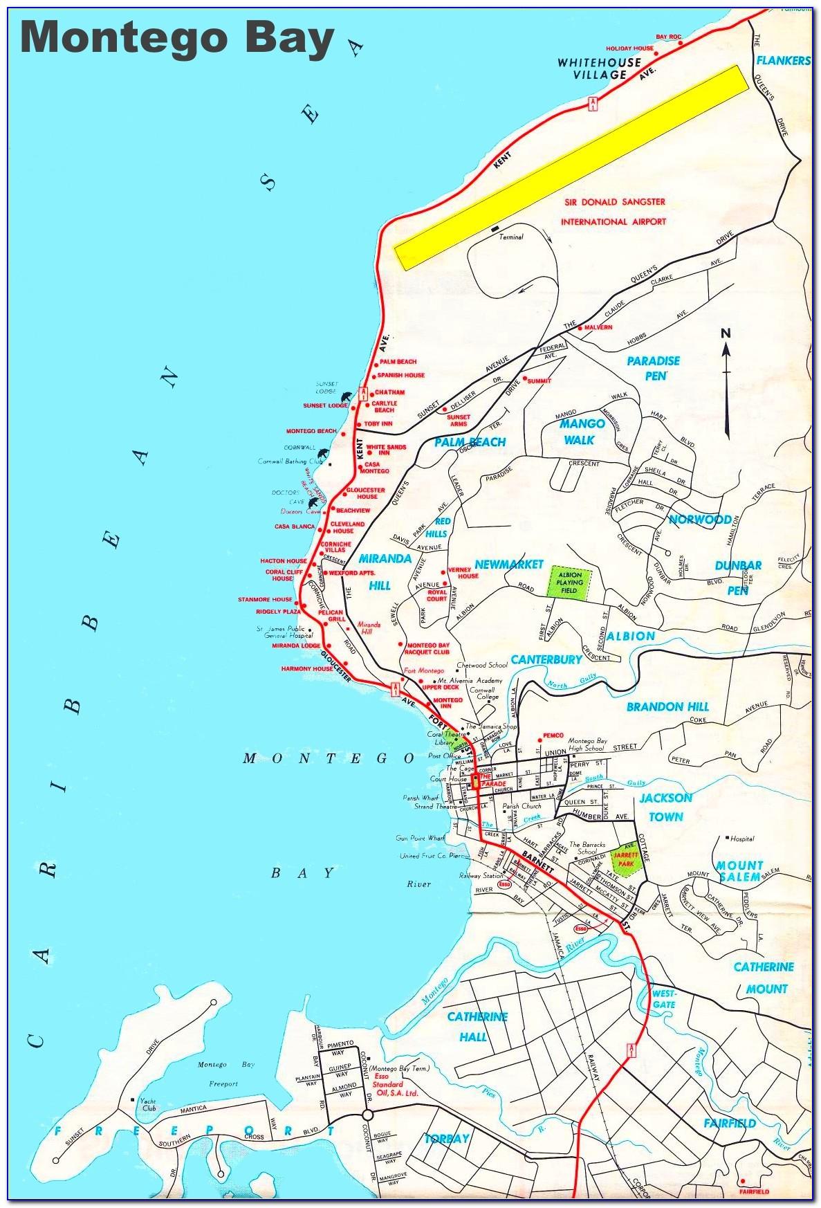 Riu Montego Bay Hotel Map