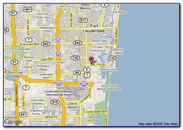Riverside Hotel Fort Lauderdale Map