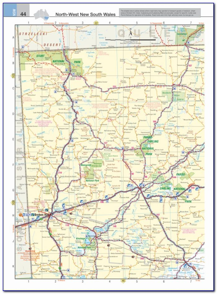 Road Map For Truckers