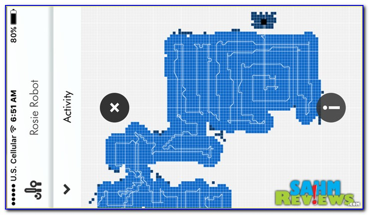 Robot Vacuum Cleaner Room Mapping
