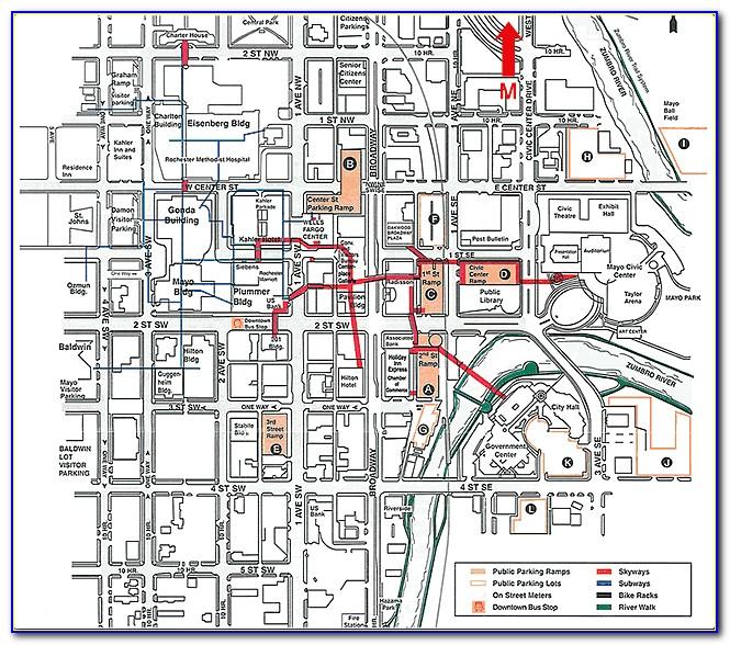 Rochester Minnesota Hotel Map