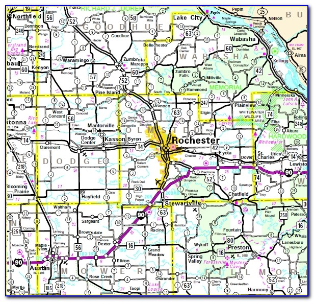 Rochester Mn Hotels Map