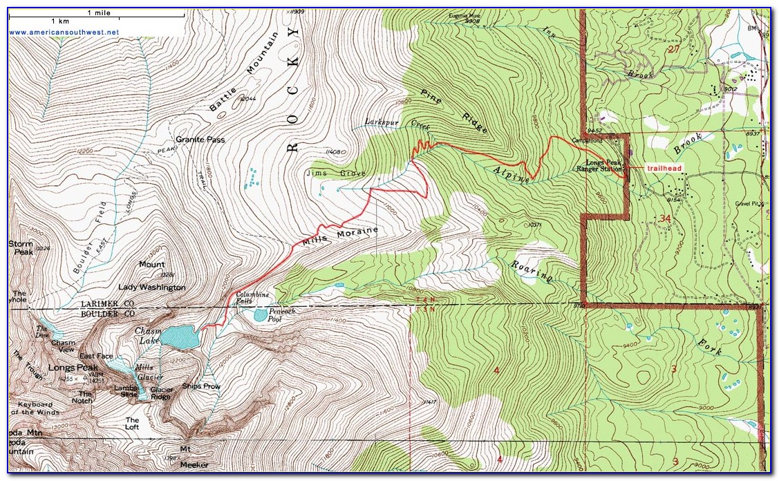 Rocky Mountain National Park Easy Hiking Trails