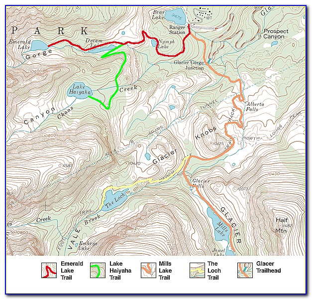 Rocky Mountain National Park Hiking Trail Difficulty