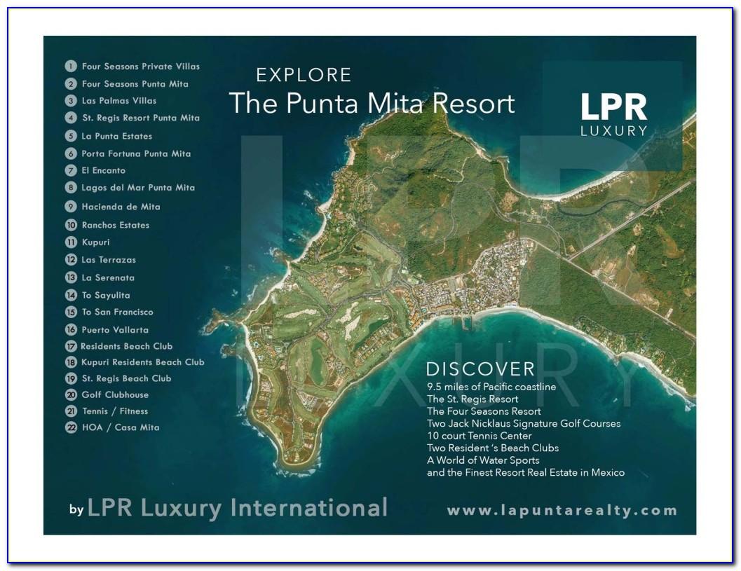 Royal Suites Punta Mita Resort Map
