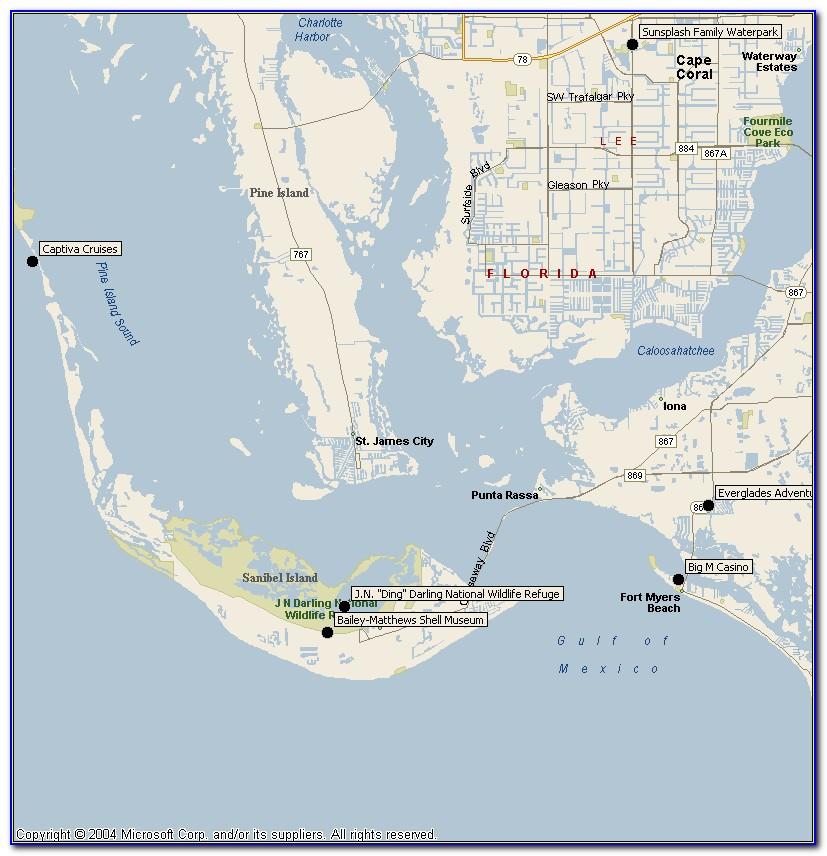 Sanibel Island Florida Google Maps