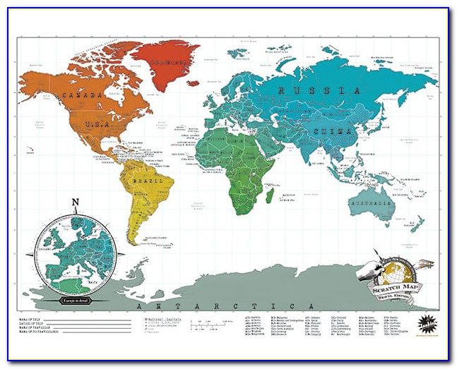Scratch Map By Luckies Coupon Code