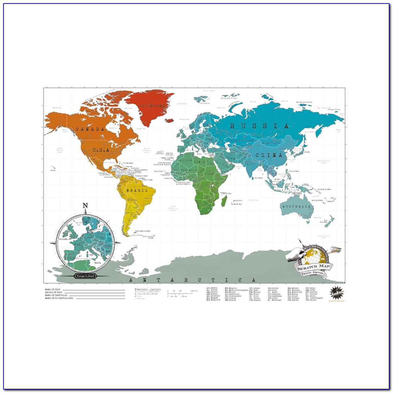 Scratch Map Luckies Amazon