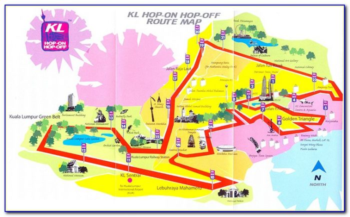 Singapore Hop On Hop Off Bus Route Map Pdf