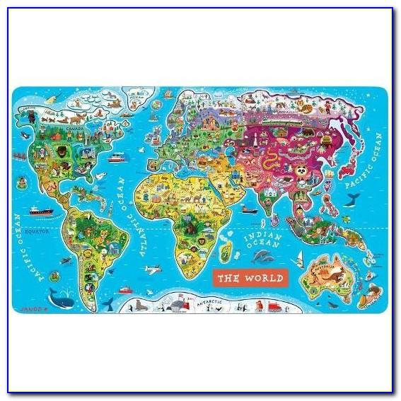 Skymall World Map