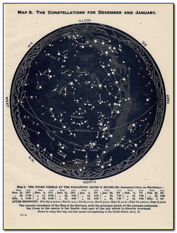 Southern Hemisphere Star Map App