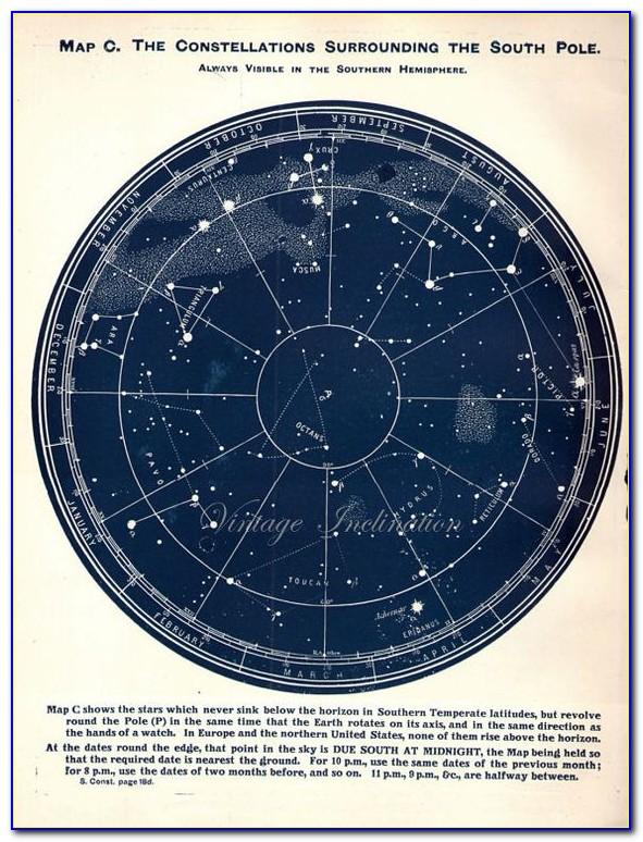 Star Constellations Map App