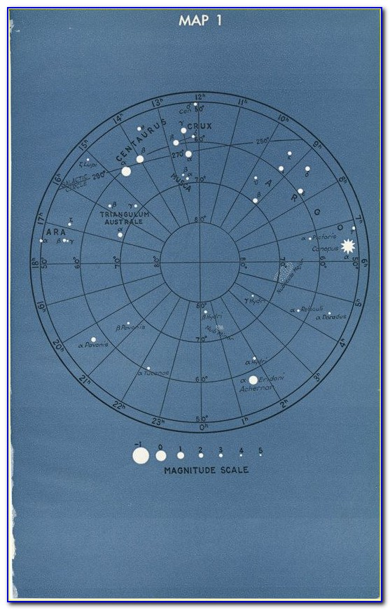 Star Constellations Maps And Charts